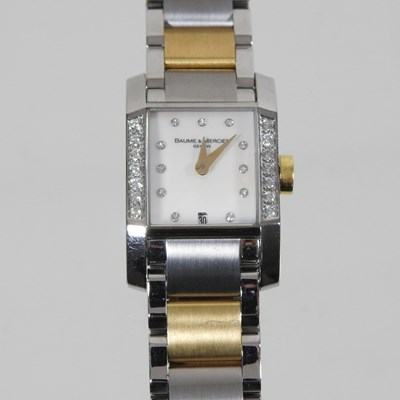 Lot 47 - A Baume and Mercier wristwatch